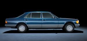 Mercedes-Benz S-Class </br>series 126 (1979 – 1991)